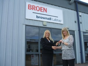 Dawn Webster, Lettings Manager at Whittle Jones Welcomes Broen Valves Ltd to Navigation Point