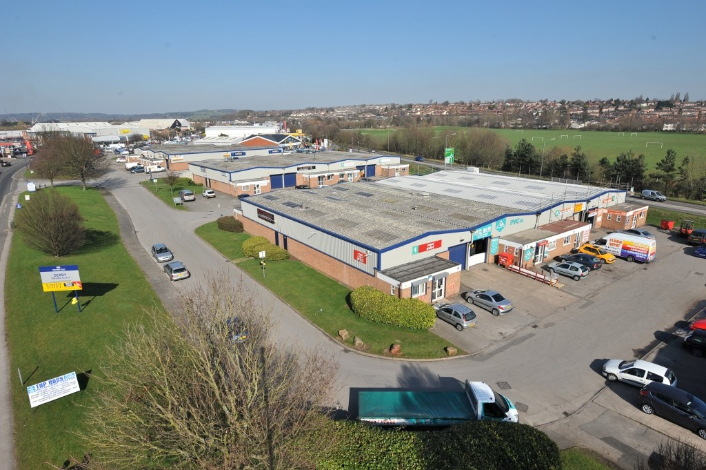 Last Unit Remaining at Derby Trading Estate