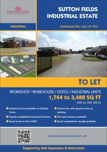 Sutton Fields Industrial Estate. Only One Unit Left. Contact Us Now!